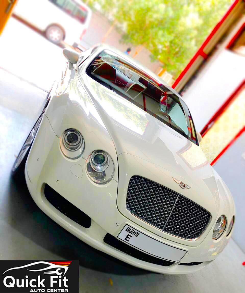 Bentley Continental GT Suspension Inspection