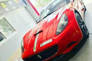 Ferrari California Repair and service dubai