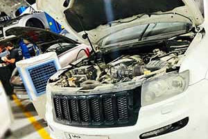 Jeep SRT Engine rebuilding