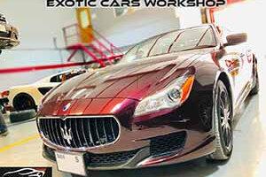 Maserati repair and service dubai