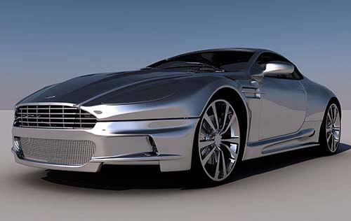 Aston Martin Servicing Workshop