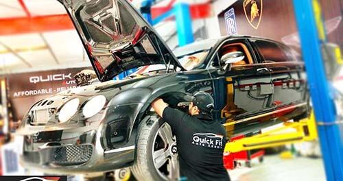 Bentley GT Brakes And Suspension Service