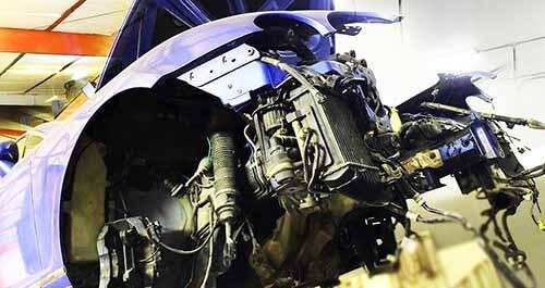 Rebuilding Bentley Engine And Gearbox