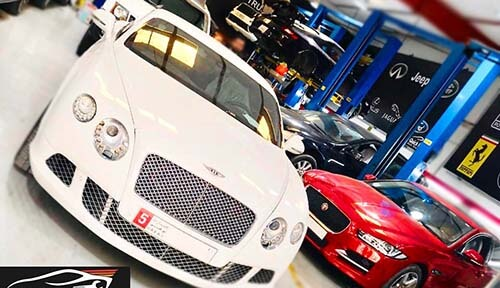 Bentley Picked Up From Abu Dhabi For Major Service