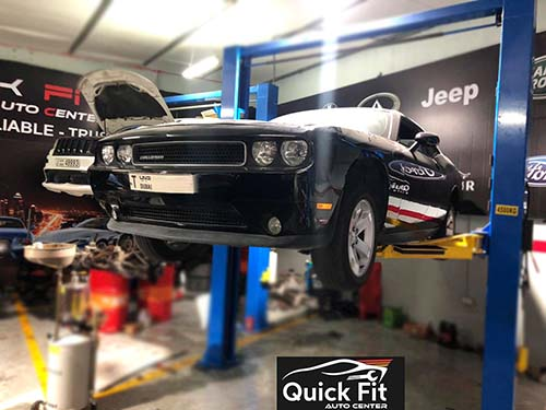 Dodge Challenger Minor Service And Brake Service