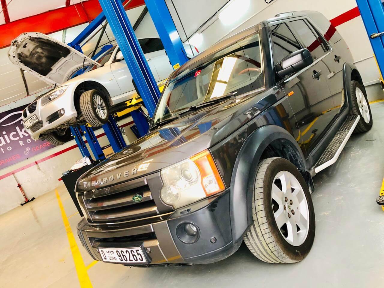 Land Rover Repair Dubai