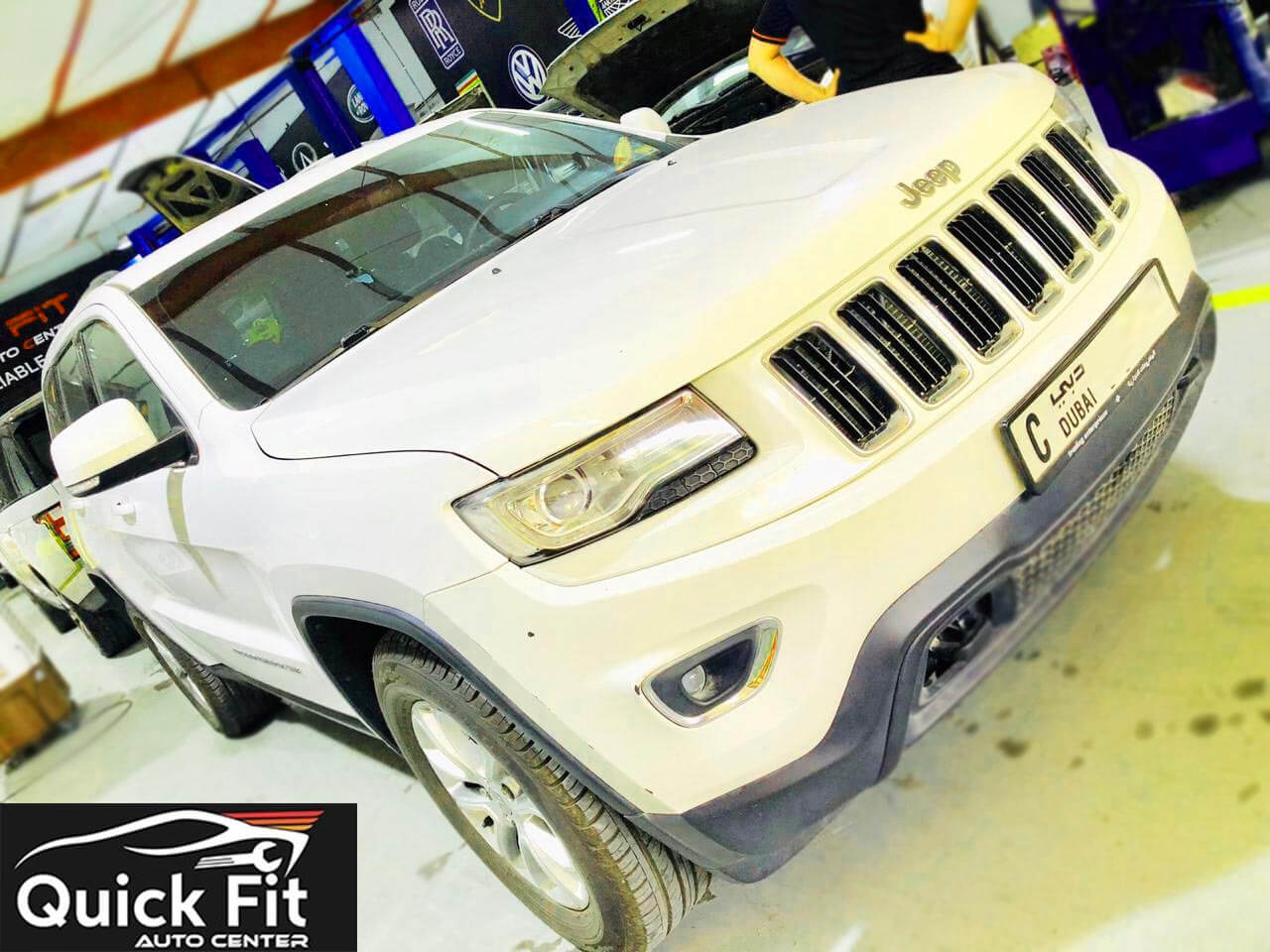 JEEP Repair Workshop Dubai