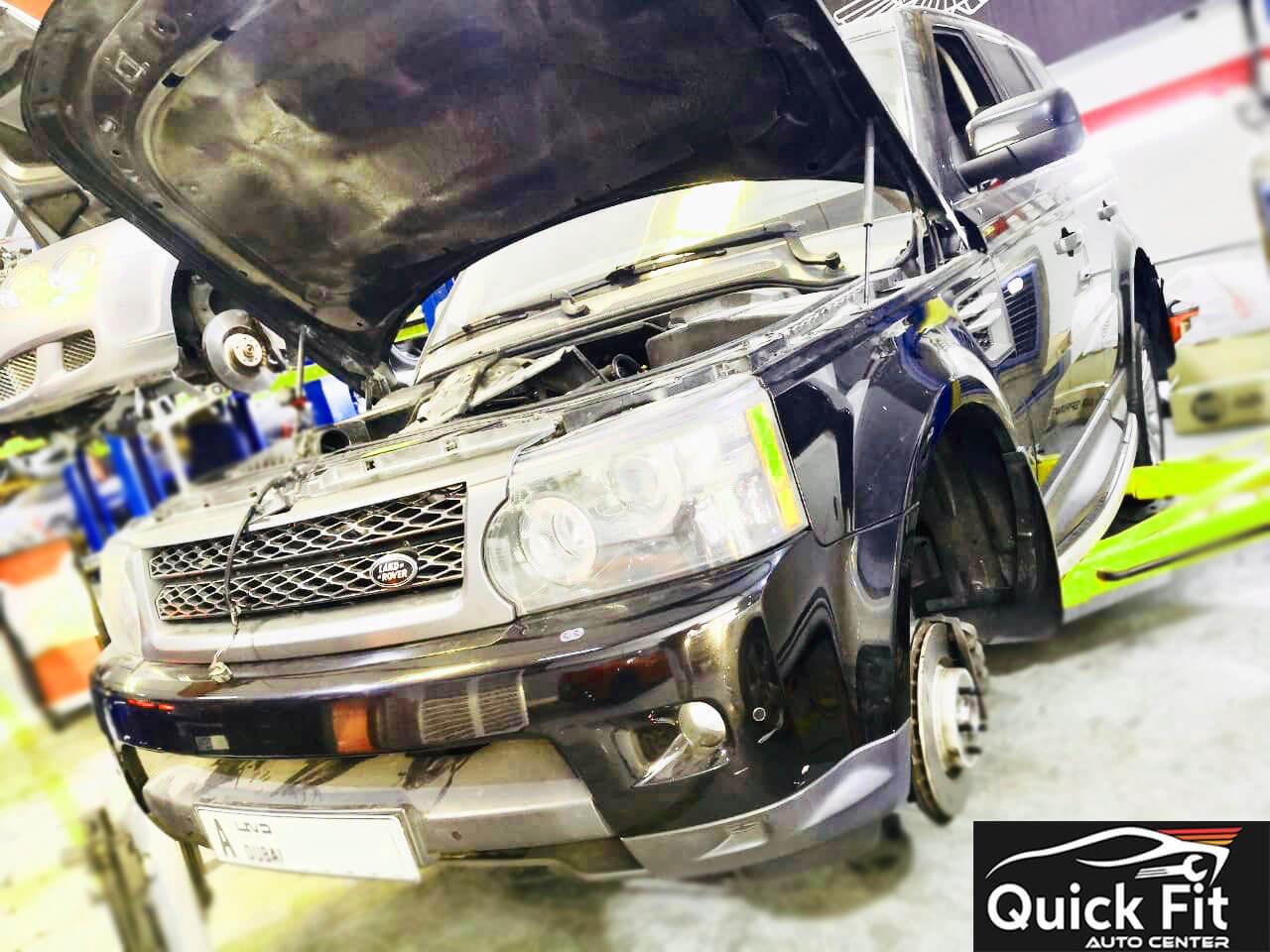 Range Rover Workshop