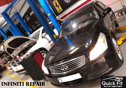 Infiniti G35 Major Service and Oil Leakage Fixed
