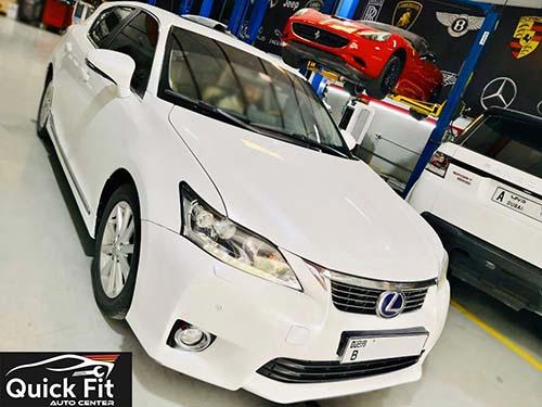 Lexus CT 200 Hybrid arrived for full Inspection