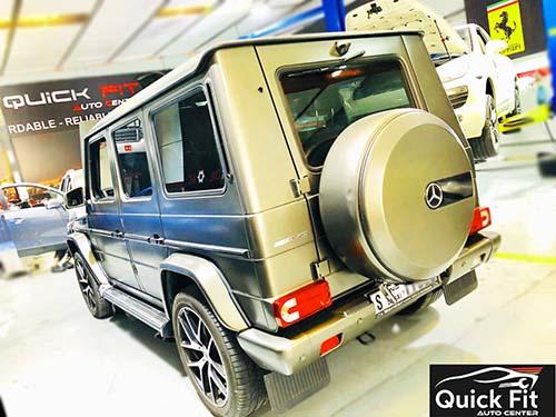 Mercedes Repair & Service Workshop