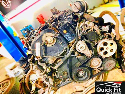Porsche Cayenne Engine Overhauling Dubai