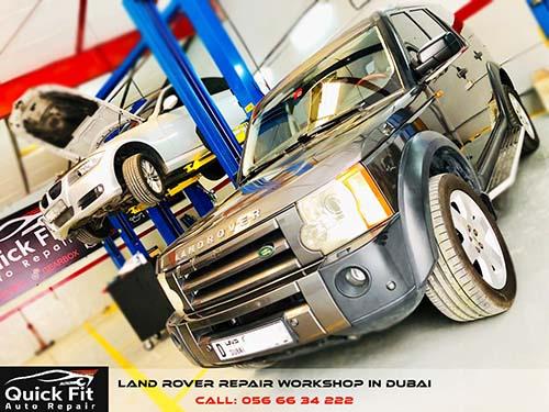 Land Rover Engine Oil Change
