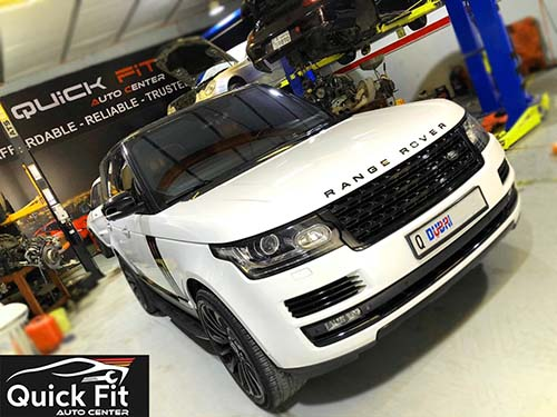 Range Rover Vogue HSE Suspension Work! Complete Land Rover Service Solutions!