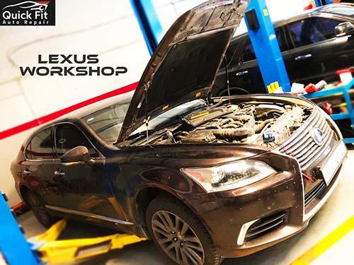 Servicing Lexus, Steering Repaired