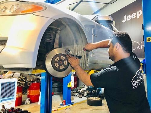 Bentley Brakes Servicing and Suspension Servicing