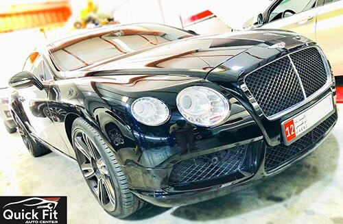 Bentley GT Is Here For Gearbox Inspection And Repair