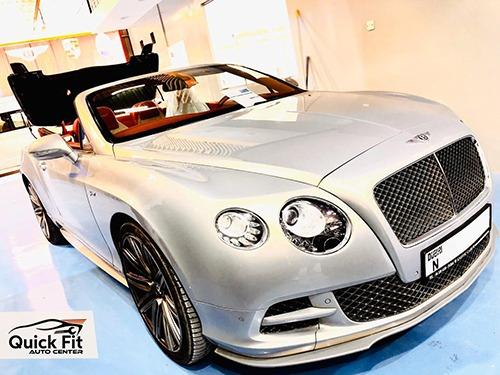 Repairing Sunroof For Bentley Speed 2015 Model