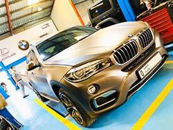 بي إم دبليو X6 هل هنا في صالح السريع ل Alloygator ريم حماية في دبي