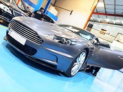 Aston Martin DBS For Major Service At Quick Fit Auto Center