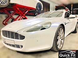 Brakes And Minor Service For Aston Martin At Quick Fit
