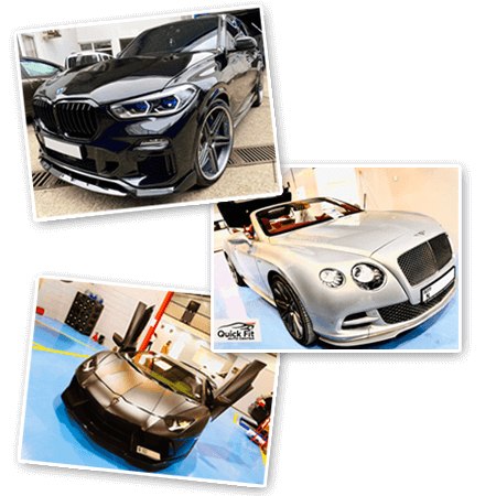 Auto detailing service portfolio