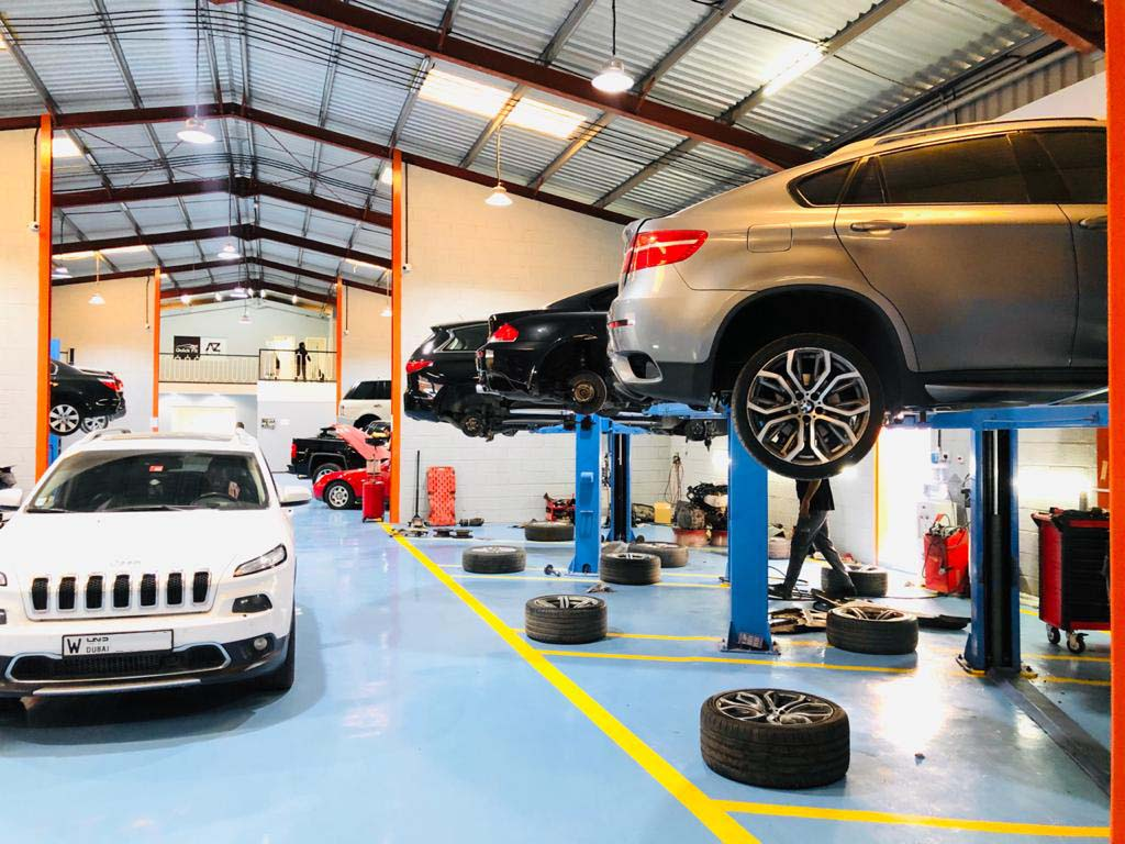 American, European And Exotic Cars Suspension Repair And Service Specialists Workshop In Dubai