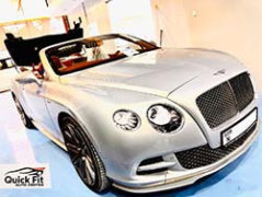 Convertible Roof Repair For Bentley Speed At Quick Fit