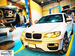 إصلاح وصيانة الفرامل لسيارات بي إم دبليو X6 في دبي في كويك فيت