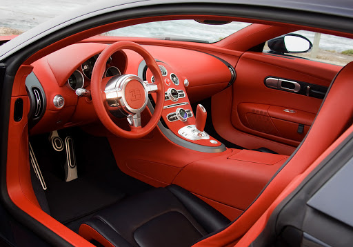 Custom Car Leather interior
