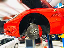 Brakes Repair And Service At Quick Fit For Ferrari