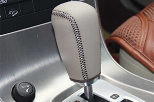 Gearbox Knob Cover - Car Upholstery Service dubai