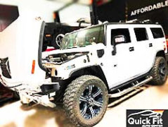 Major Servicing Hummer H2 By Hummer Specialists At Quick Fit