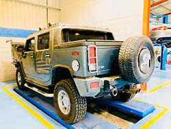 Hummer H2 Oil Leakage Repair At Quick Fit Auto Center