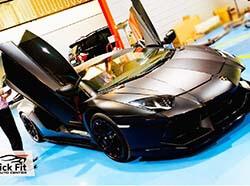 Lamborghini Aventador Foiling And Tinting