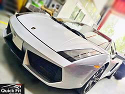 Major Service For Lamborghini Gallardo At Quick Fit Auto Center