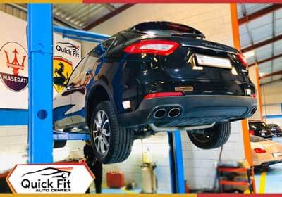 Maserati Levante Repair & Service Workshop