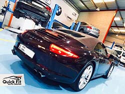 Porsche 911 Brakes Repair And Service Dubai At Quick Fit Auto Center
