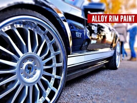 alloy rim paint