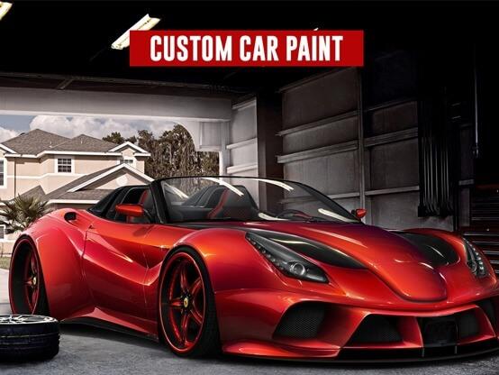 custom car paint
