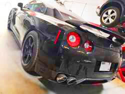 Servicing Nissan GTR At Our Old Workshop