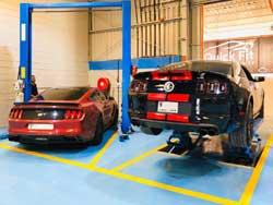 Mustang service center dubai