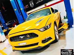 Mustang Repair Workshop Dubai