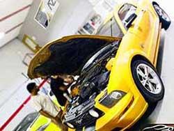 Best Mustang repair dubai