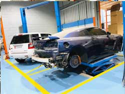 Nissan Tyre Change Service at Quick Fit Auto Center Dubai