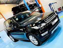 Range Rover Sport For Minor Service At Quick Fit Auto Center