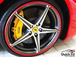 Premium Quality Rim Protection For Ferrari