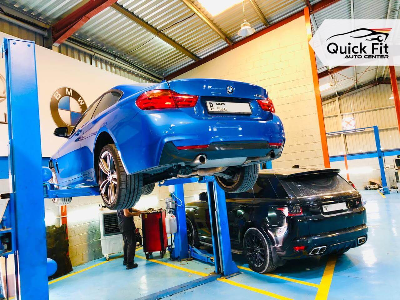 BMW PinPoint Testing in Dubai at Quick Fit Auto Center