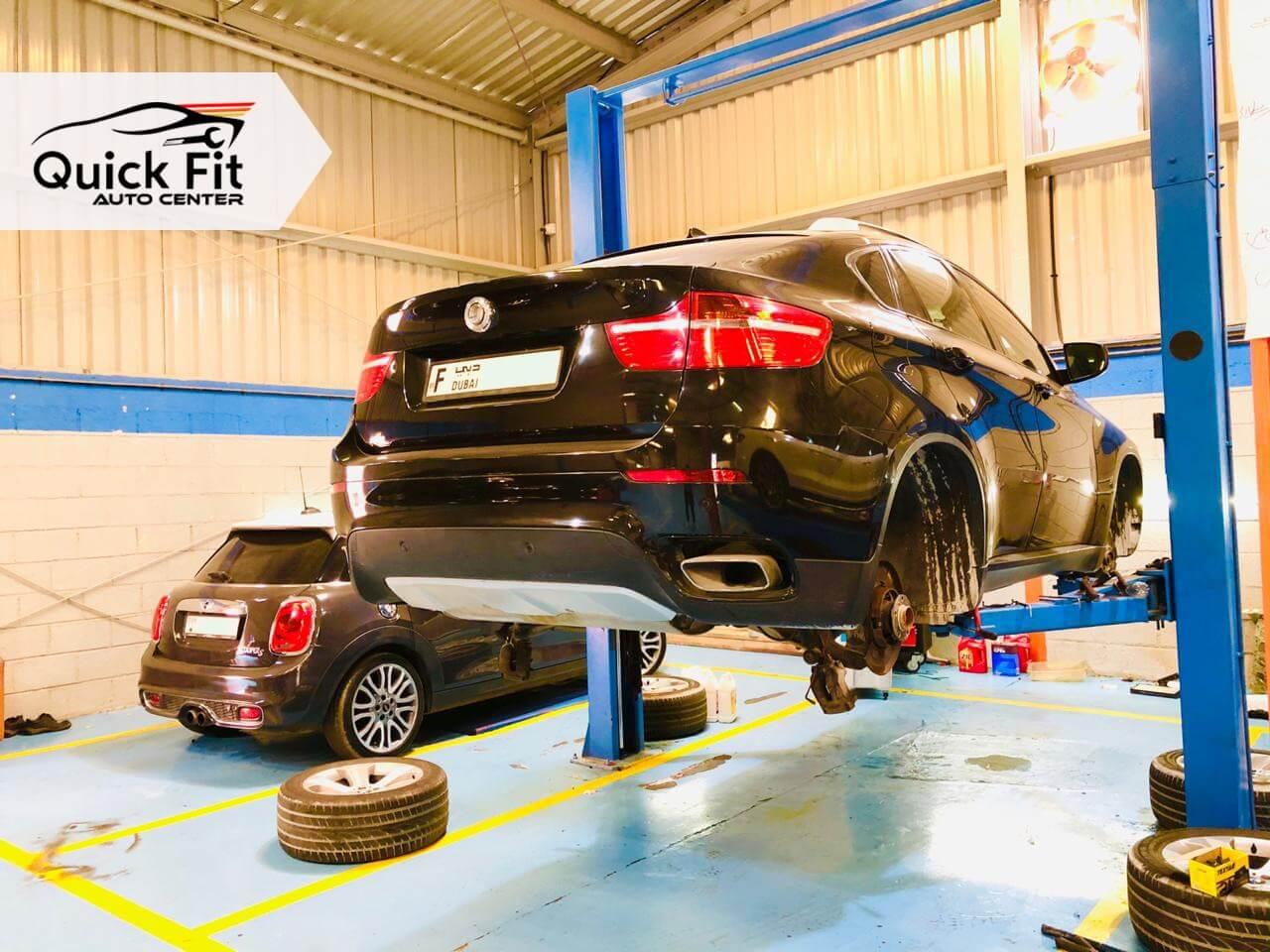 BMW X6 Suspension Fixed