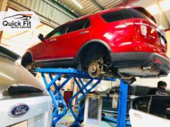 Ford Suspension Issue Detected after Inspection Service in Dubai